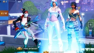 Hacker Showed me all the LEAKED SKINS! HIT THE WHOA IN FORTNITE! Fortnite Whoa Emote!