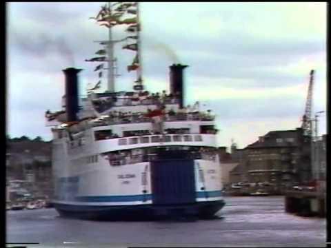 Earl Godwin British Ferries Departs Weymouth 1985