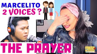 Cover images Vocal Coach REACTS to MARCELITO POMOY The Prayer + Lucia Sinatra singing Duet🎙💜🎙