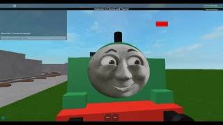 Roblox Thomas and friends Driving and crashing Duck