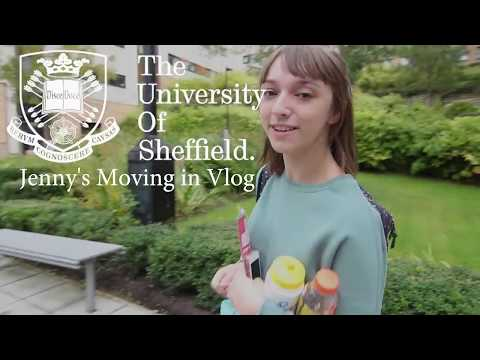 Jenny's Moving In Vlog | Moving into Ranmoor Wimberry, University of Sheffield