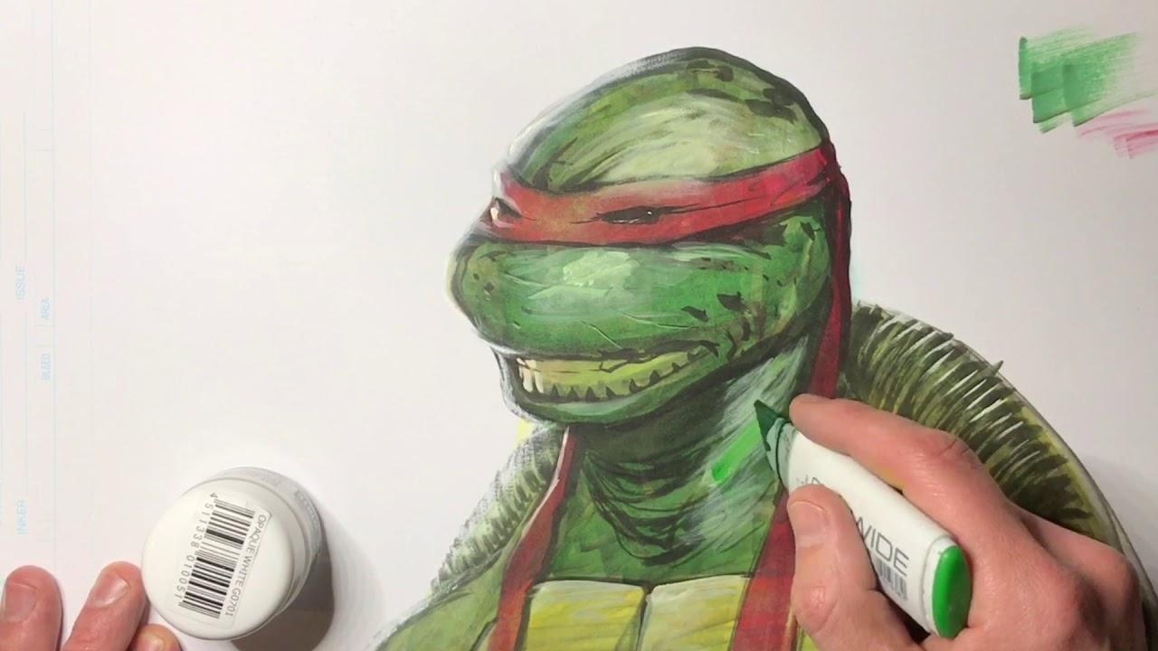 How to Draw Ninja Turtles | Terrance Whitlow