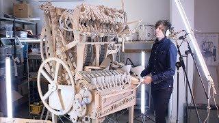"Wintergatan's ""Marble Machine"" makes music using 2000 Steel Marbles"