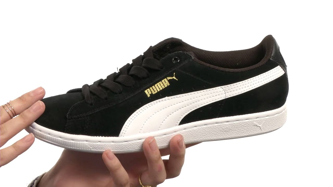 puma sneaker schwarz vikky
