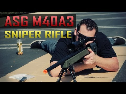 U.S. Marine Corps Sniper Rifle - ASG M40A3 by VFC - Airsoft GI
