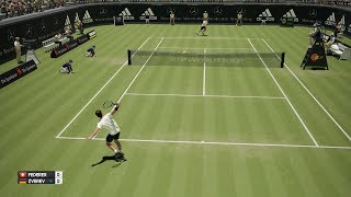 Roger Federer vs Mischa Zverev - AO International Tennis PS4 Gameplay