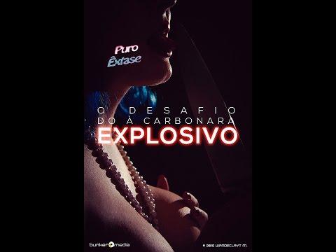 O Desafio Do À Carbonara Explosivo / The Explosive Carbonara Challenge