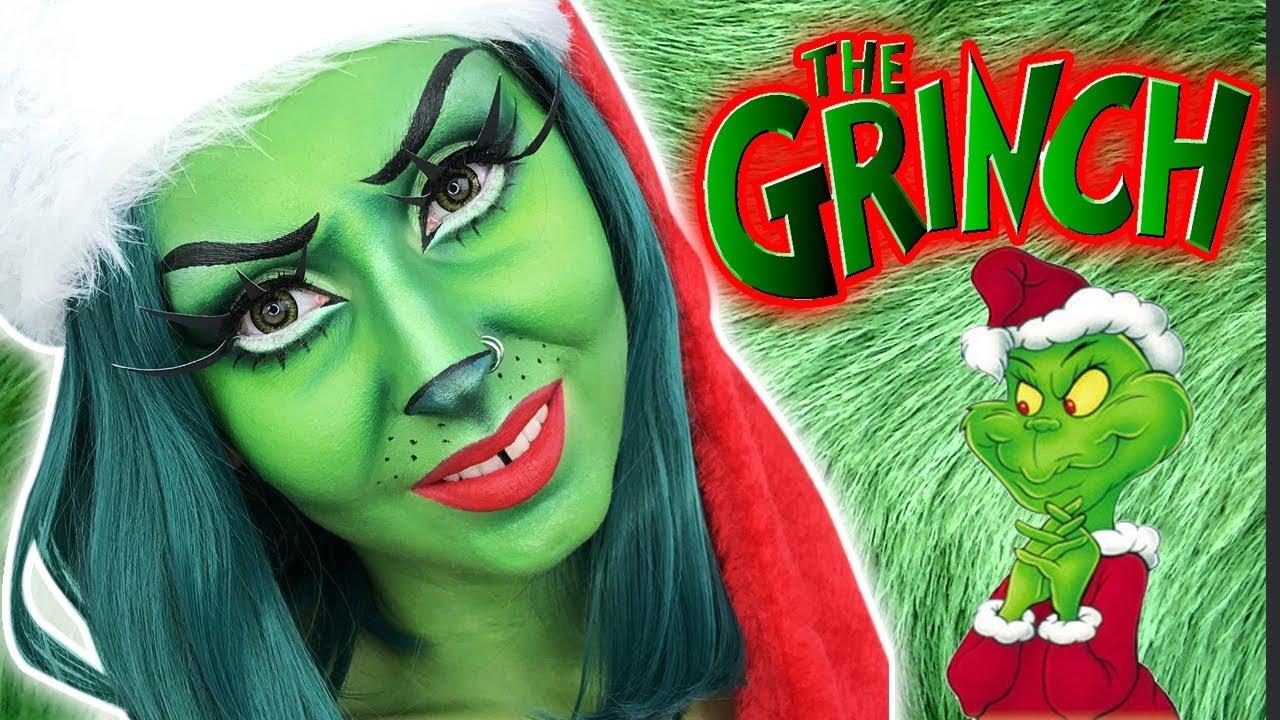 MAQUILLAGE ARTISTIQUE  Mrs. Grinch
