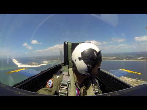 Blue Angels VIP flight