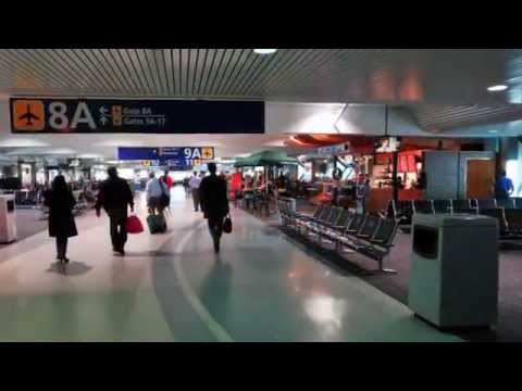 Oakland Airport tour   Australia trip November 2013