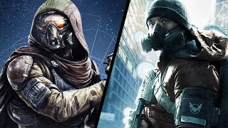 DESTINY VS THE DIVISION! A Comparision of Multiplayer Gameplay, RPG System, Crafting and Weapons