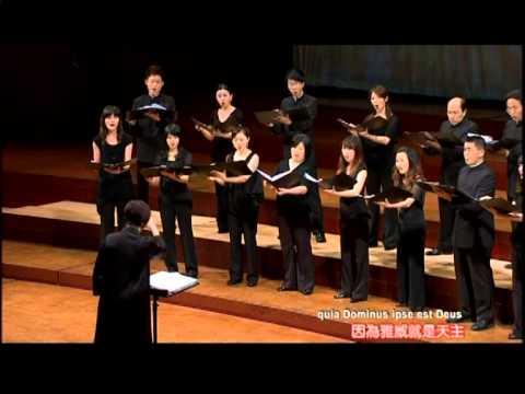 Jubilate Deo 請向上主歡呼(Orlando di Lasso) (Conductor: Yun-Hung ...