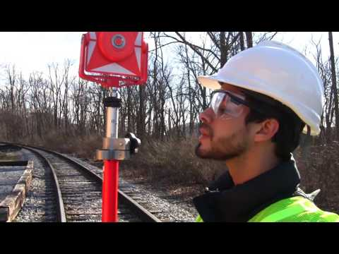 Rail Transportation Engineering 302 and Total Stations