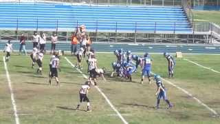 Yreka Chargers vs Anderson Cubs 2015 1st Qtr