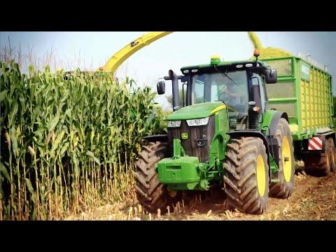Calendario Donne E Trattori.Tractorflash Trattori John Deere Serie 7r Lavoro Di
