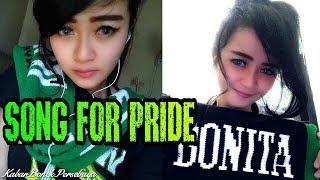 """Bikin Baper BONITA Cantik Nyanyikan Lagu Bonek """"Song For Pride"""" Persebaya"""
