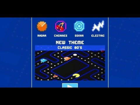 PAC-MAN 256 New Weapons (Radar, Cherries, Electricity) Shown!