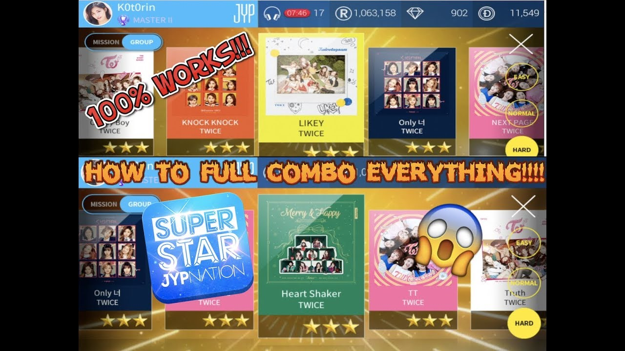 SuperStar JYPNATION Hack Cheats- How To Get Unlimited Diamond