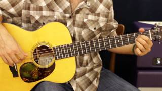 Blake Shelton God Gave Me You EASY Acoustic Guitar