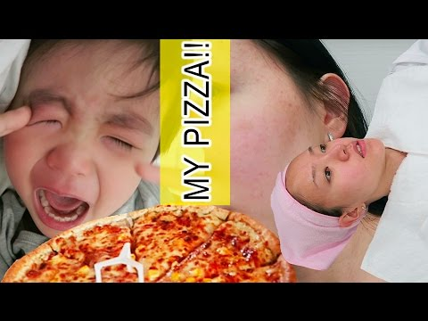 KOREA DIARY | GIVE ME PIZZA!!!! + STARTING ACNE TREATMENT in KOREA 여드름 피부 치료 시작! ♥