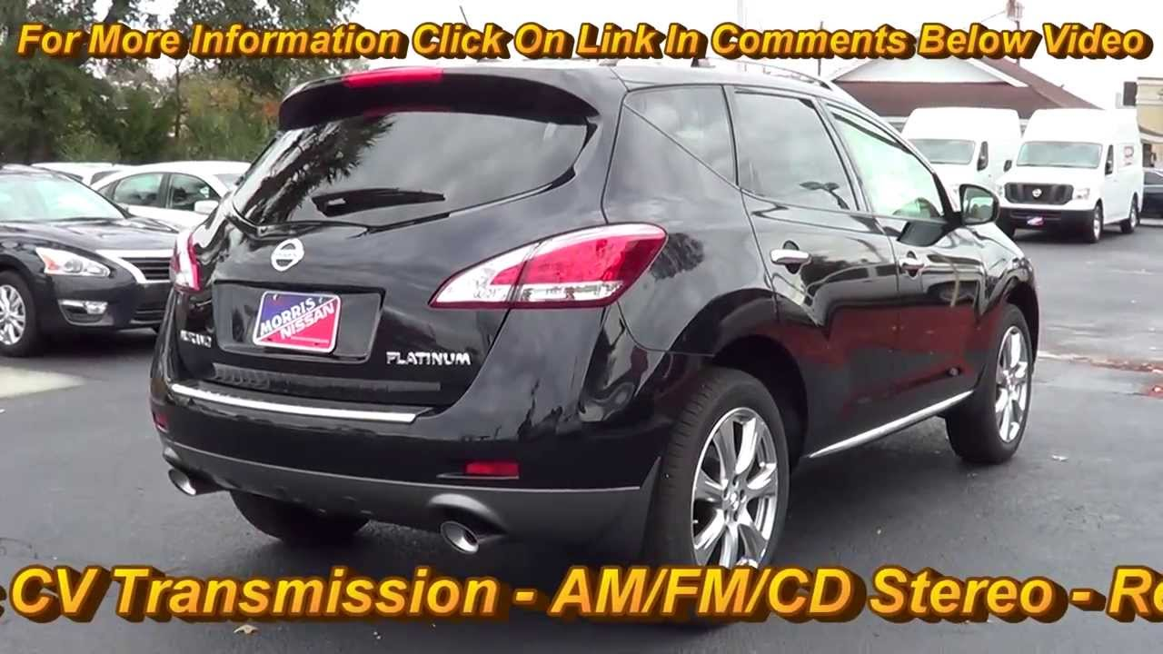 Nissan Murano Platinum  Offered By Morris Nissan