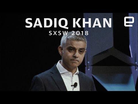 Sadiq Khan talks Facebook, Twitter, and social media at SXSW 2018