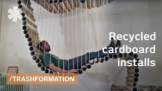Trashformation: Furniture & Shelter From Recycled Cardboard