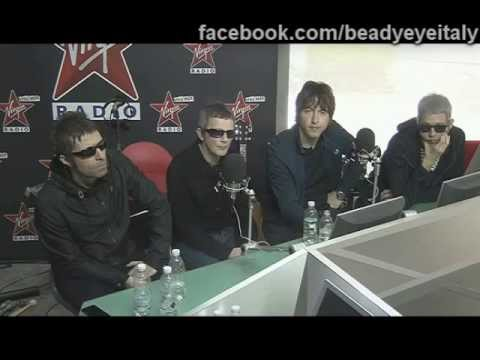 Beady Eye in videochat su Virgin Radio - domande dei fan - Milano 24.06.2013
