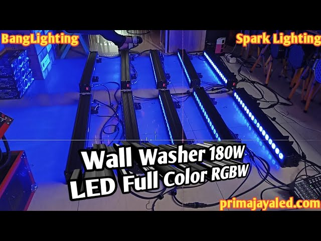 Wall Washer 180W LED Full Color RGBW