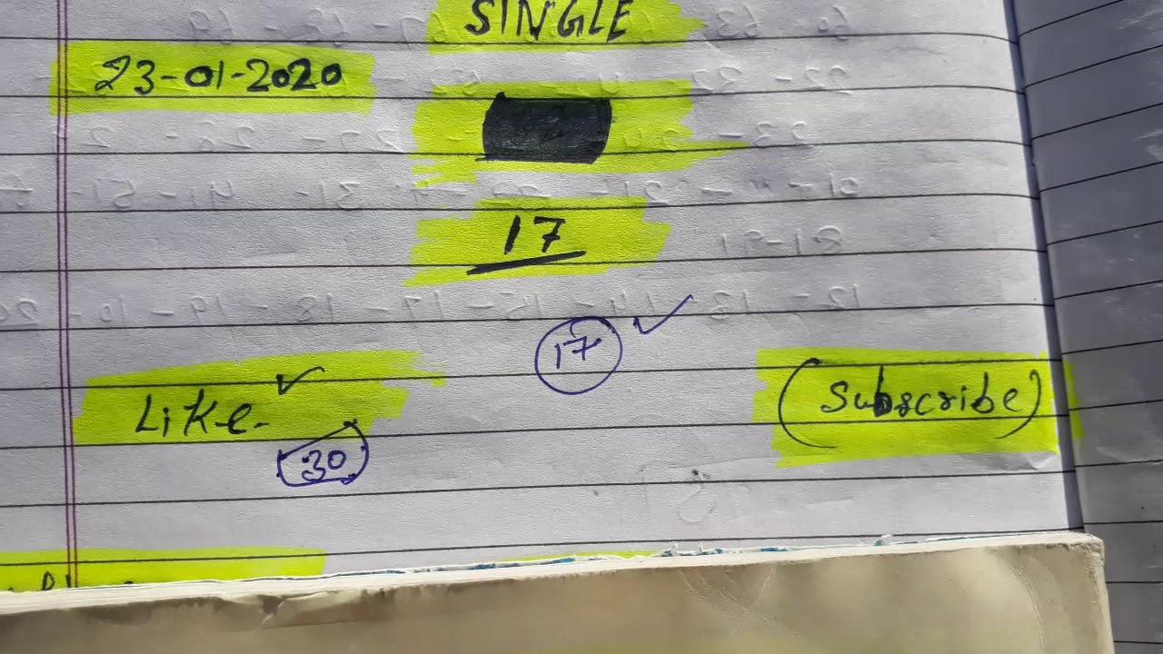 Kal single 96 pass Satta king gali disavr fridabad and gajiyabad daily pass satta king