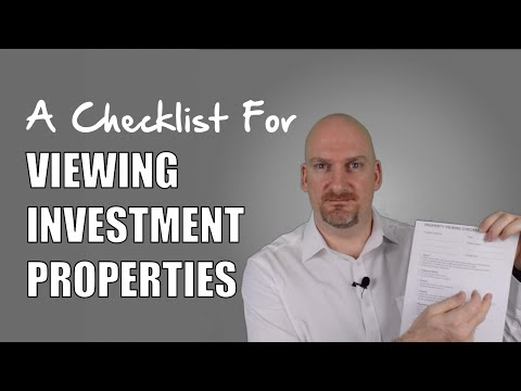 A FREE Checklist For Viewing An Investment Property | Real Estate Investing Tips