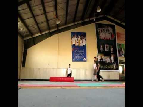 martial arts TRICKING iran mashhad navid Doubleleg .mov