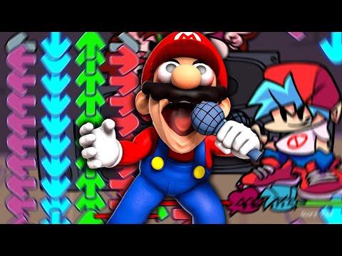 Mario Plays: Friday Night Funkin