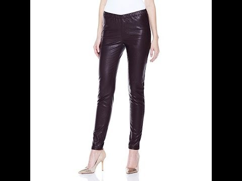 Stretch Faux Leather Skinny Jeggings