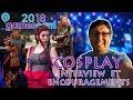 Gamescom 2018 Cologne | le Cosplay interview et encouragements pour la DZ community
