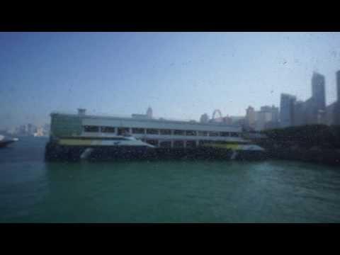 Hong Kong,  boarding the boat to Cheung Chau Island
