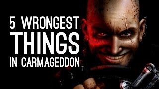 Carmageddon Xbox One PS4 Gameplay - The 5 Wrongest Things in Carmageddon Max Damage