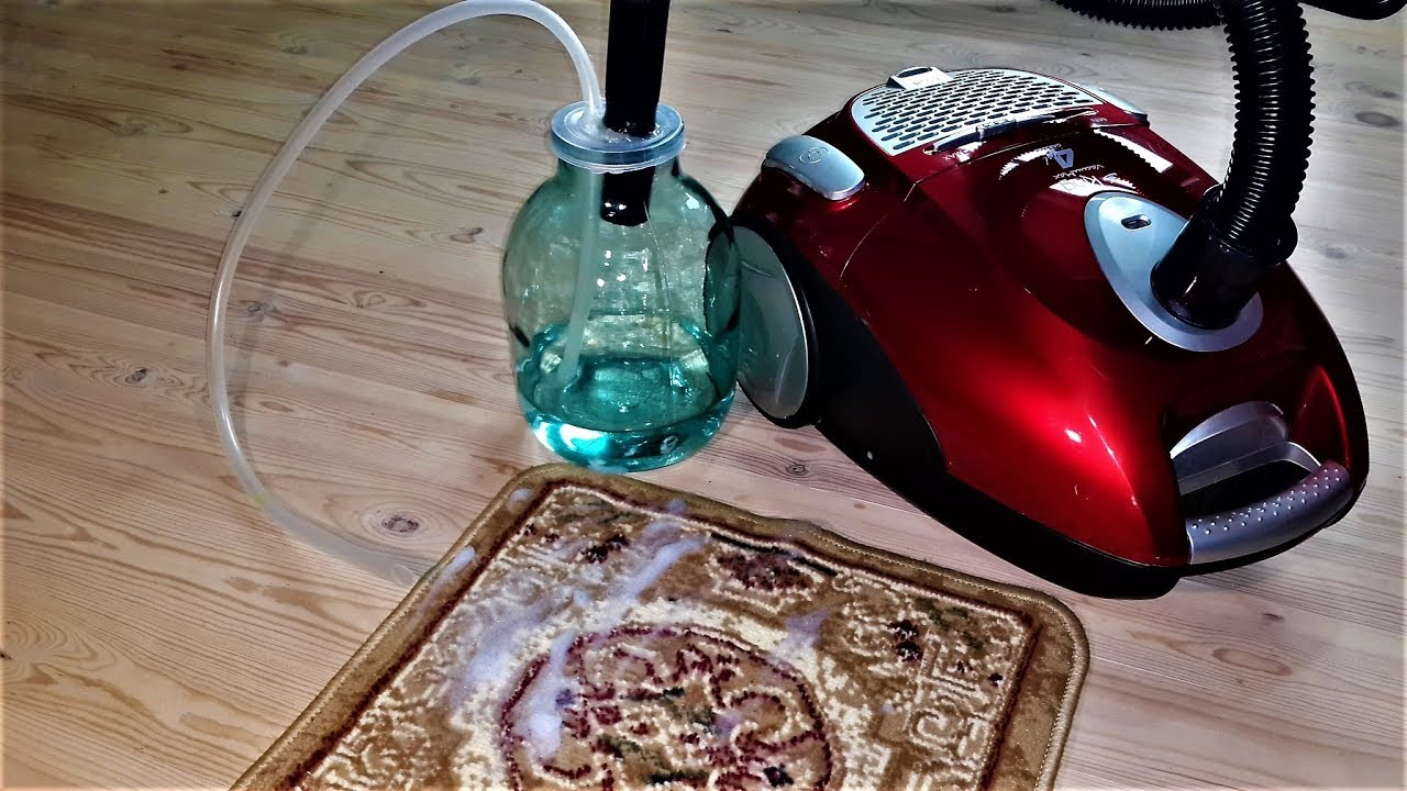 How to make water pump from electric vacuum cleaner  YouTube