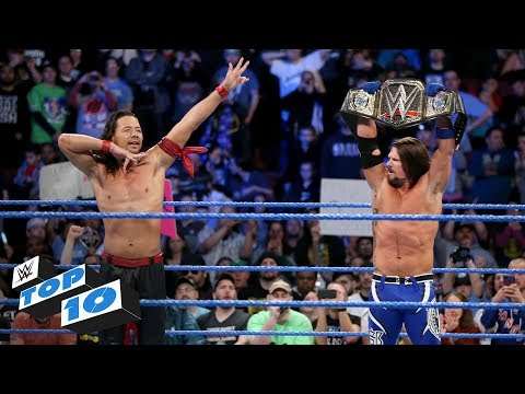 Top 10 SmackDown  moments: WWE Top 10, January 30, 2018