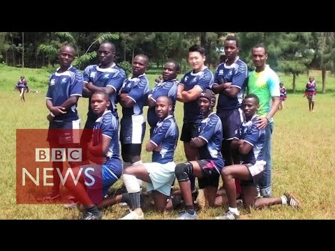 Why is Rwanda in love with rugby? BBC News