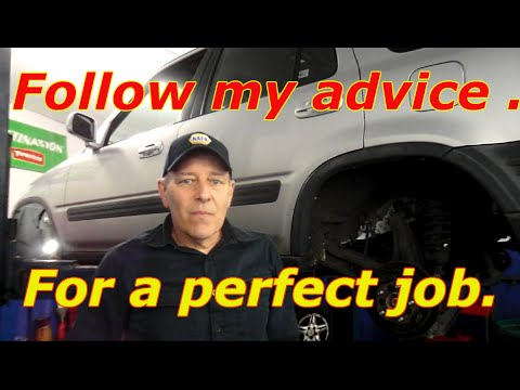 How to replace the rear brake shoes on a Honda CRV