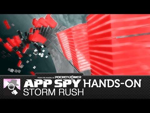 Storm Rush | iOS iPhone / iPad Hands-On - AppSpy.com
