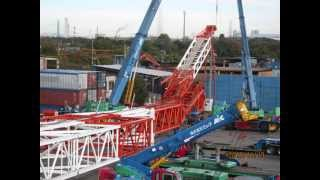 terex cc8800-1 Boom booster nagoya japan part2 建設機械 大型クレー...