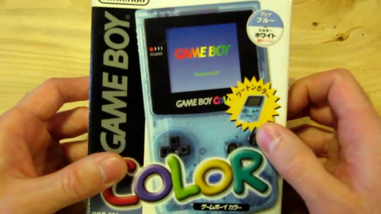 My Super Rare Game Boy Color Lawson Edition For Sale
