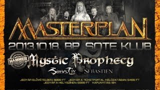 Masterplan: 2013.10.18 Budapest SOTE Klub - Trailer