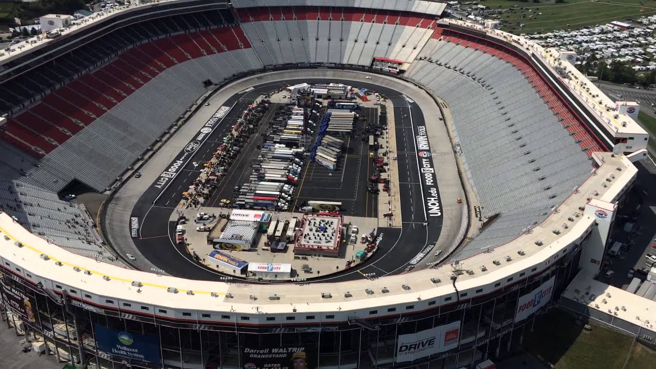 Bristol motor speedway aerial tour with bell helicopter for Bristol motor speedway tours