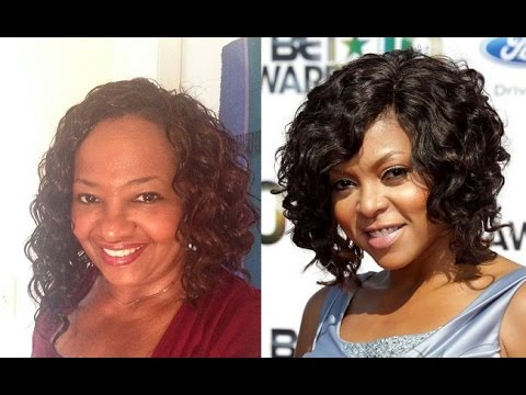 Deep Cozy Deep Wavy Bob Crochet Braids Taraji P Henson Inspired Youtube
