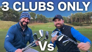 THE 3 CLUB CHALLENGE - Rick Vs Pete