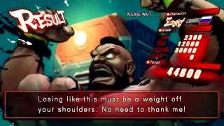 Street Fighter IV (PlayStation 3) Arcade Mode as Zangief