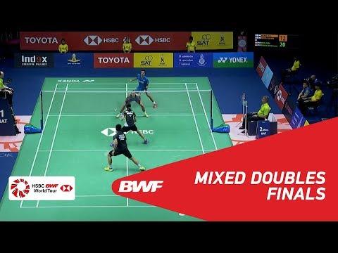 BWF 2018 vs. C. Adcock/G. Adcock (ENG) vs. Faizal/Widjaja (INA)